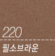 220 필소브라운